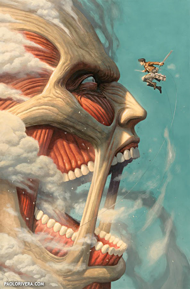 Paolo Rivera (US) - Attack on Titan