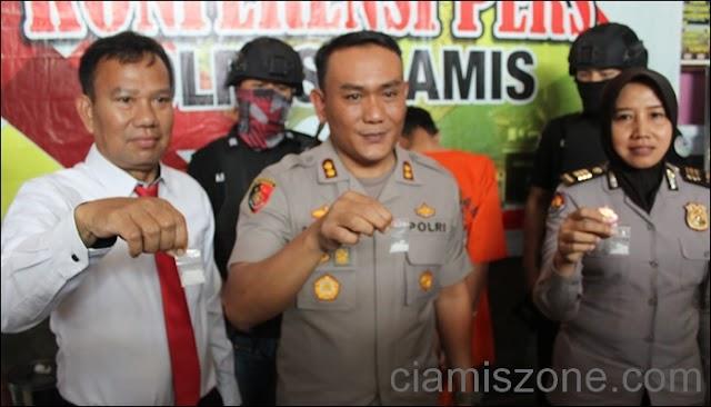 Polisi Bekuk Komplotan Curanmor, Warga Bandung Pemilik Narkotika Diamankan