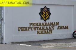 Jawatan Kosong di Perbadanan Perpustakaan Awam Kedah (PPAK) - 31 Disember 2018