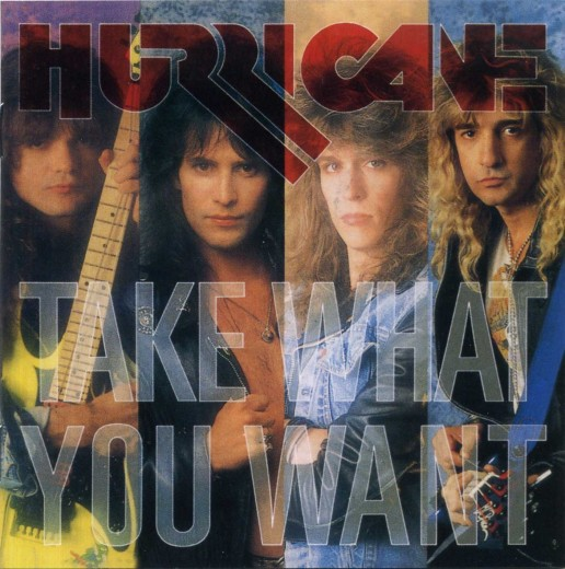 HURRICANE - Take What You Want {Yesterrock / Enigma Records remaster +4} + extras full