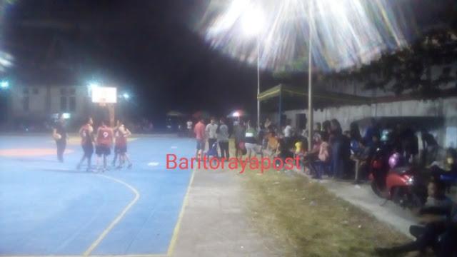 Gelaran Basket 3X3 Piala Bhayangkara Polres Barsel Sukses Tuai Antusias Penonton