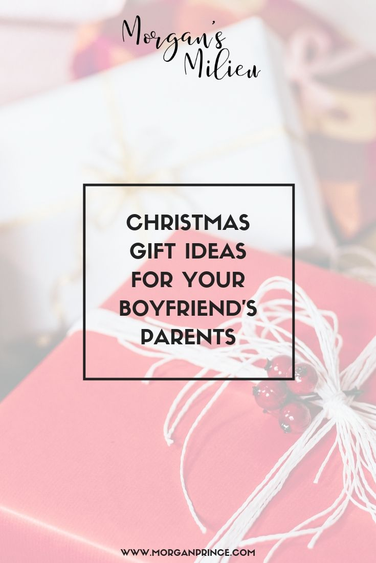 Christmas Gift Ideas For Your Boyfriend's Parents | A great list of gift ideas - just for you.