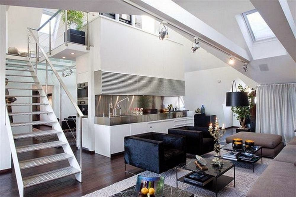 Kichenroom design ideas: Small Living Room With Kitchen ...