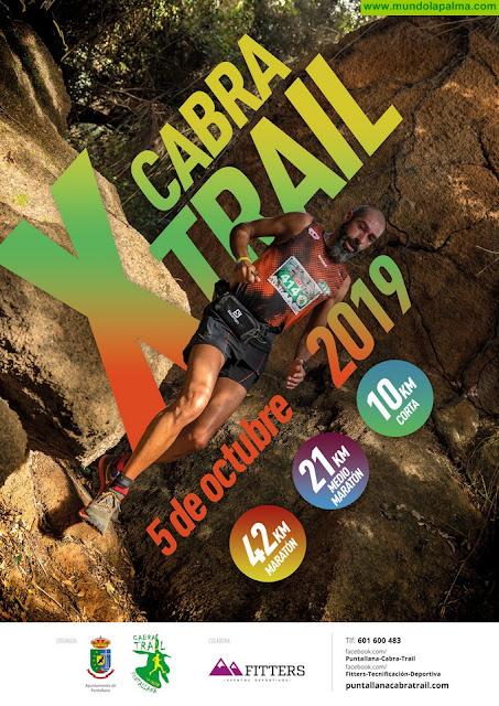 Mañana 1 de Junio se abren las inscripciones de el X aniversario de la Cabra Trail