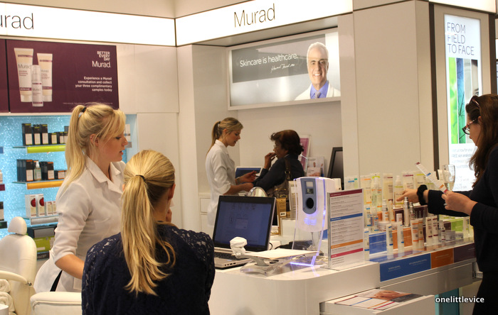 one little vice beauty blog: new murad treatment room kingston john lewis