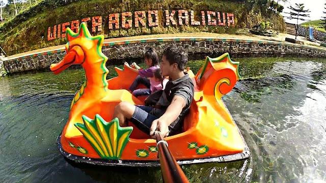 sepeda air wisata kaligua