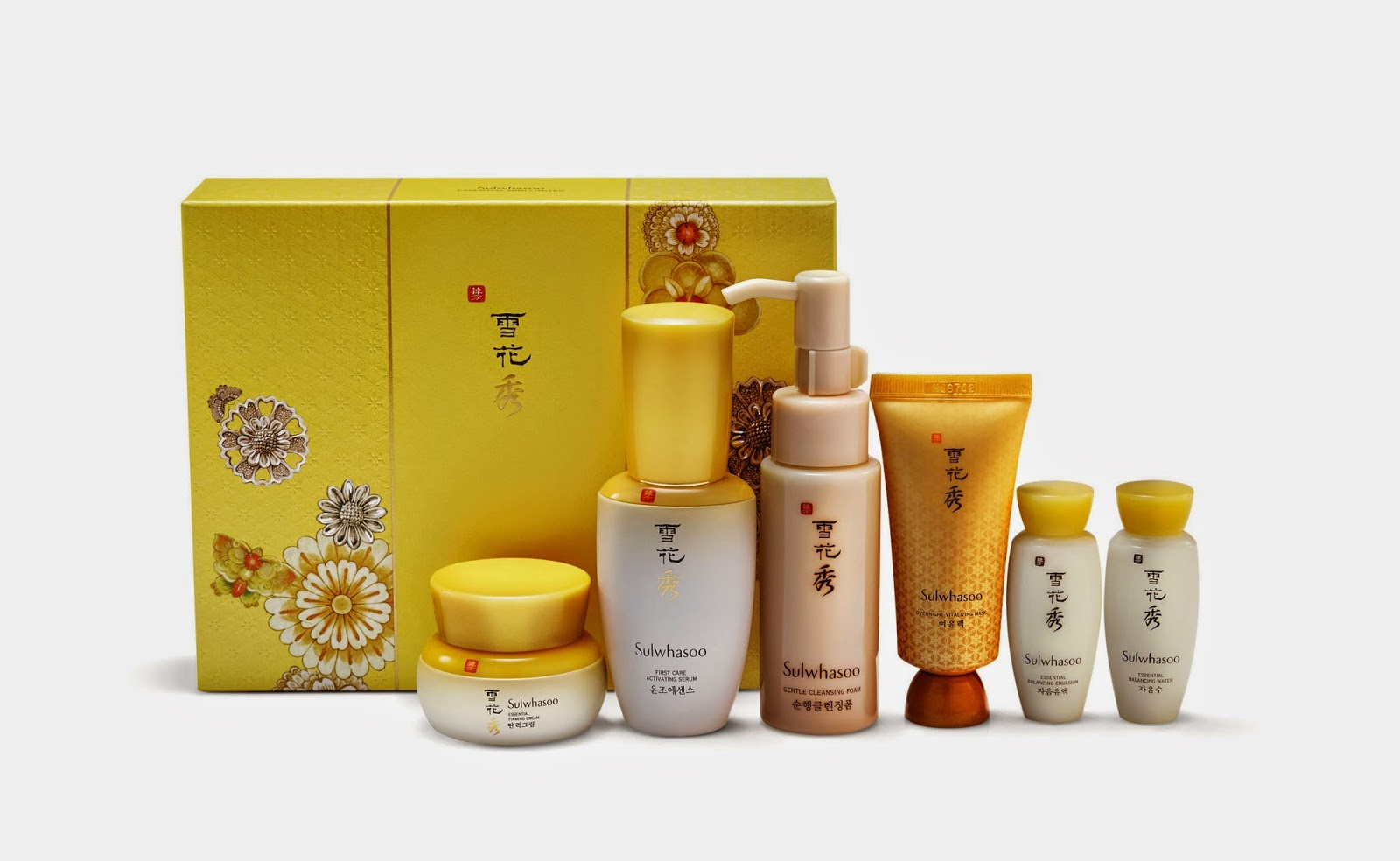 Beauty And Lifestyle Blogger News Christmas 2014 Sulwhasoo Time Treasure Renovating Cream Ex 8ml Has Made It Possible With This Starter Kit That Offer Just What The Skin Needs To Be Radiant