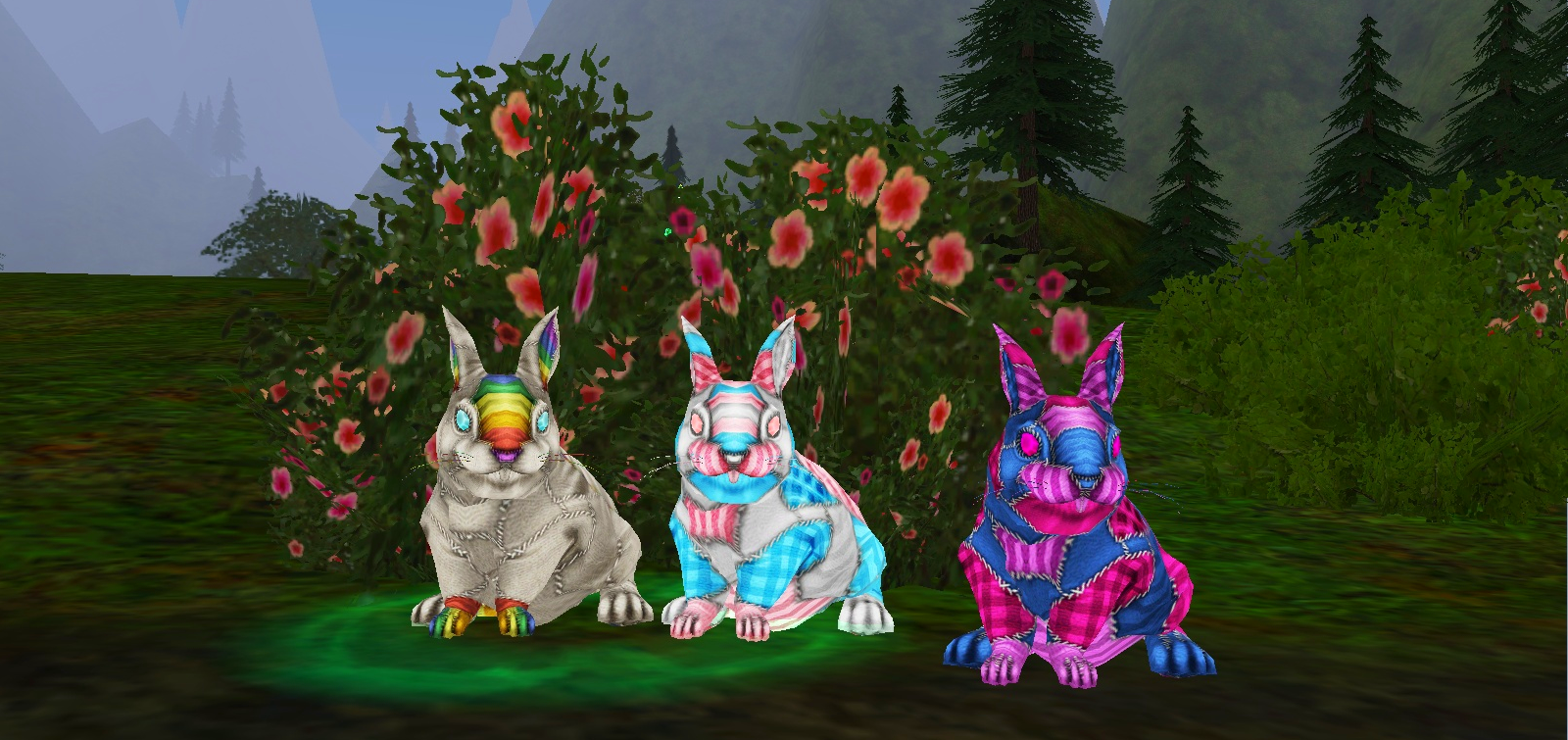 Inventory Full: Now We All Got Crowns  (Ok, Bunnies