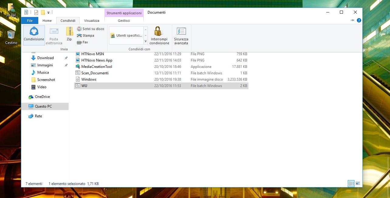 """Come abilitare l'opzione nascosta """"Condivisione"""" nelle Impostazioni di Windows 10 5 HTNovo"""