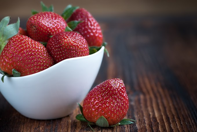 Fruta, Morangos, Vitamina