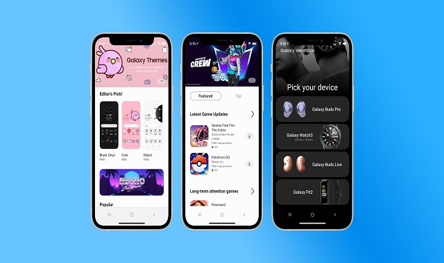 """Samsung's New """"iTest"""" Web App Lets iPhone Users Explore the Android and Galaxy Experience"""