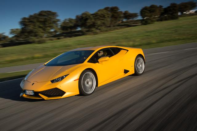 2015 Lamborghini Huracan Yellow Picture Wallpaper