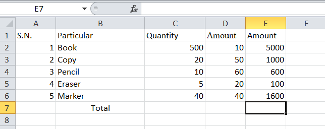 Outcome of Formula on Whole Cell on Excel