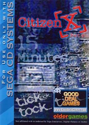 Review - Citizen X - SEGA CD [Beta]