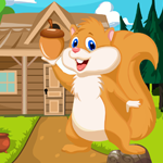 Play Games4King Cute Squirrel …
