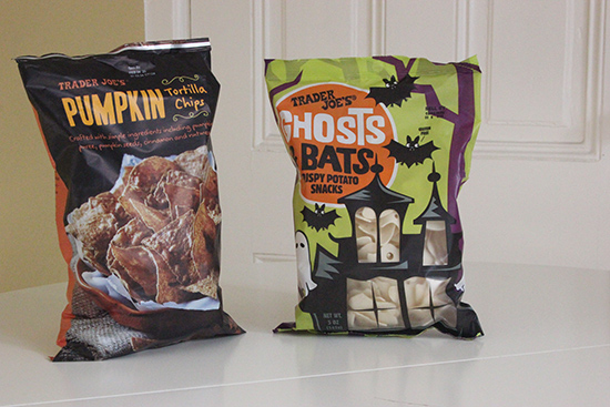 Trader Joe's Pumpkin Chips & Ghost Chips | Fall Haul | Will Bake for Shoes