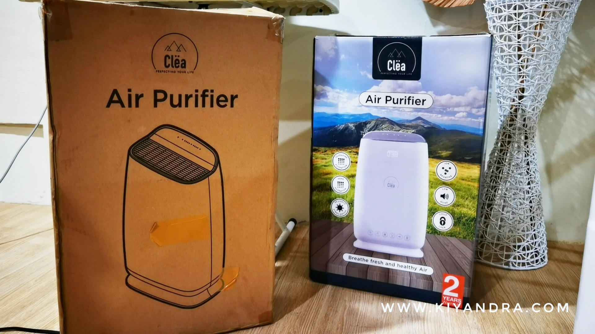 Clea Air Purifier untuk kesehatan paru - paru