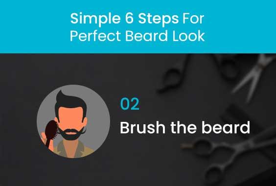 Brush the beard