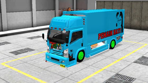 livery mod truck isuzu nmr71 box bussid anti baper