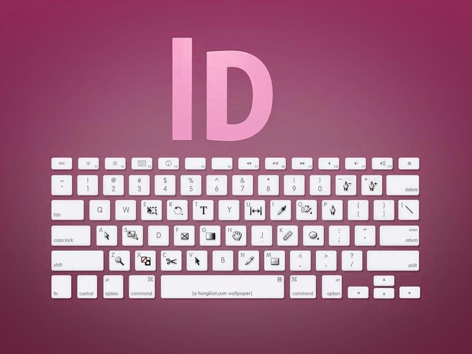hệ thống phím tắt thường được sử dụng trong Indesign