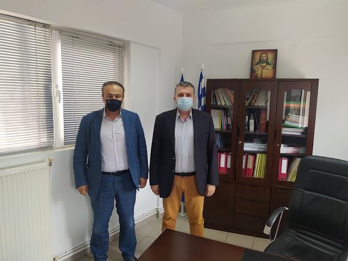 Επίσκεψη του βουλευτή της Π.Ε Φλώρινας Γιάννη Αντωνιάδη στην Τοπική Διεύθυνση e-ΕΦΚΑ Φλώρινας.