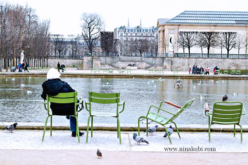 The Tuileries Garden in Paris, France, ninikobi