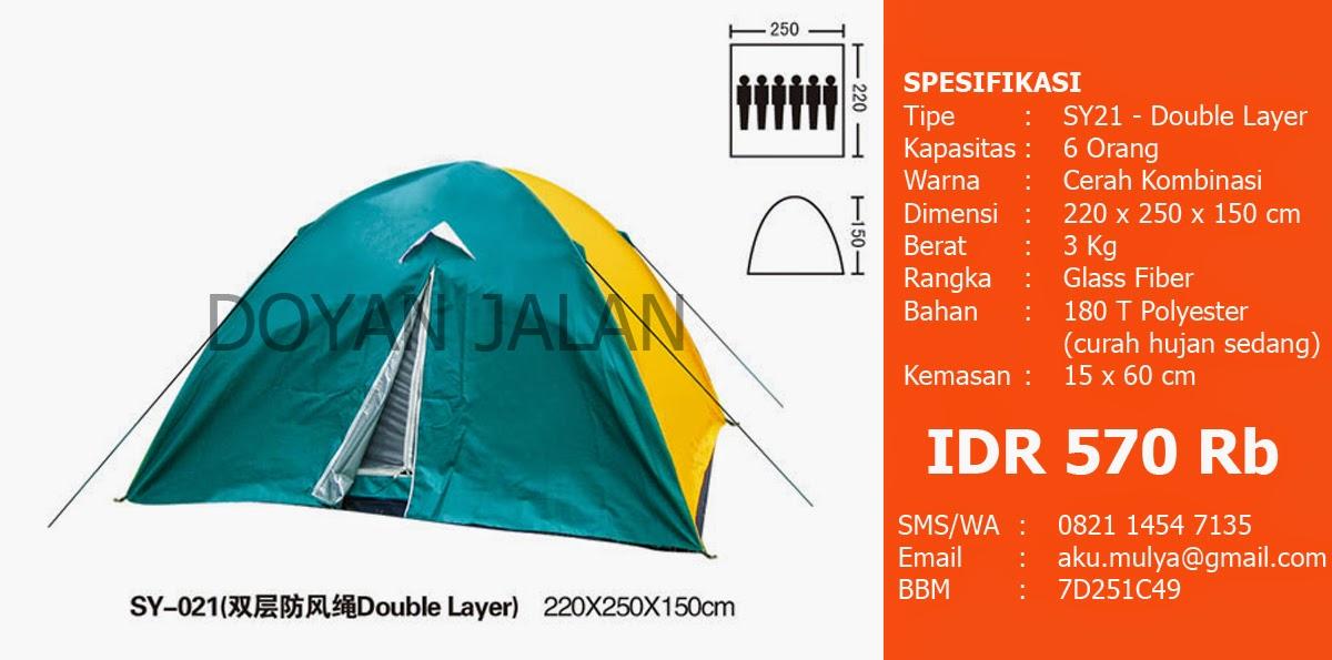 Tenda Dome Murah Kapasitas 6 Orang Bagus