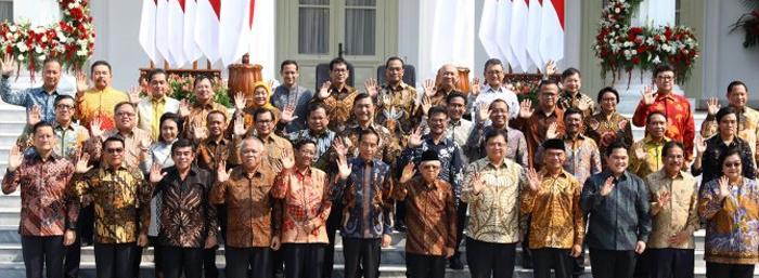 Presiden RI Lantik 12 Wakil Menteri, Ini Nama Wamen Kabinet Indonesia Maju