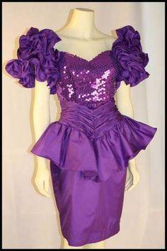 80s Style Prom Dresses