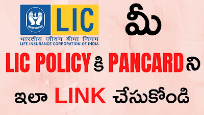 Link Your PAN To Your LIC Policies