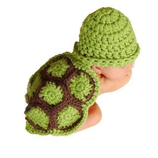 Baby Turtle Crochet Costume