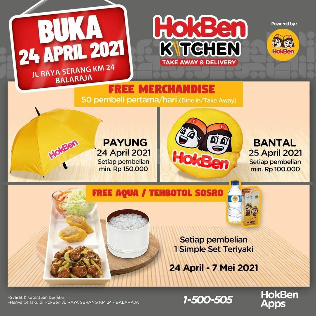 HokBen Kitchen BALARAJA Promo GRAND Opening