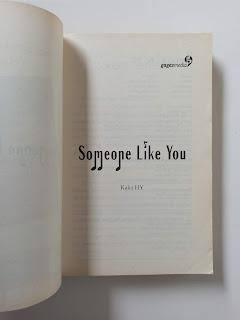 Someone Like You Penulis Kaka HY