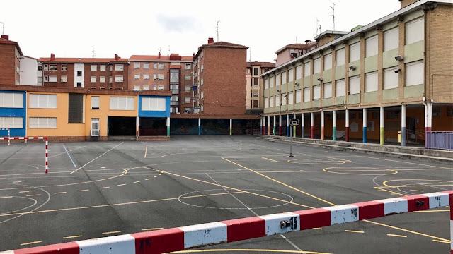 Patio del colegio Arteagabeitia