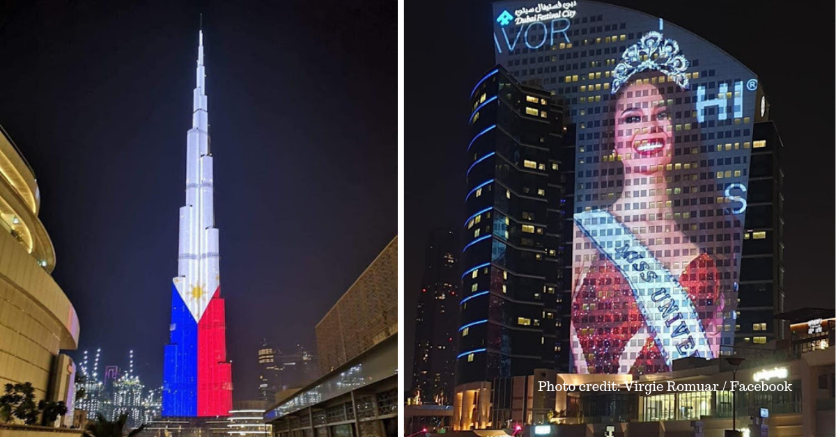 Dubai Celebrates Philippines' Independence Day, Burj Khalifa Displays PH Flag