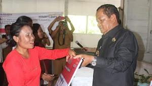 Bantuan Pangan Non Tunai Didistribusikan di Samosir