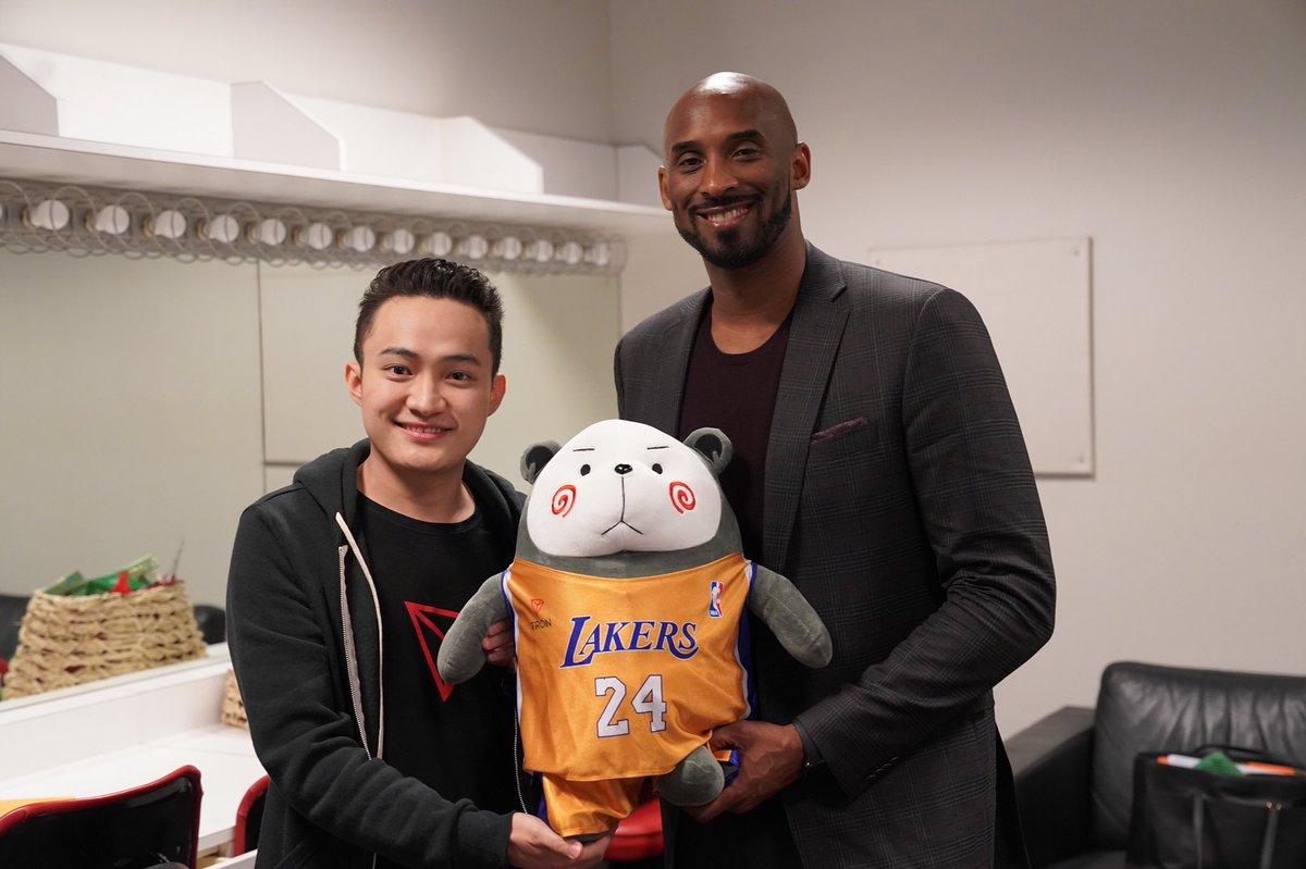 TRON (TRX) Sonraki Yıllık Zirveyi Kobe Bryant İçin Yapacak