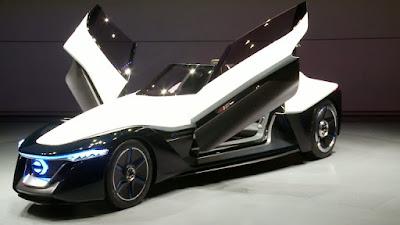 Nissan BladeGilder prototipo sportivo motore elettrico