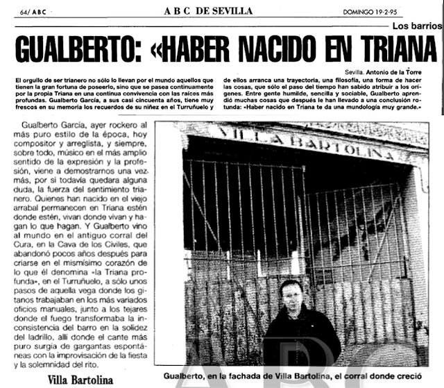 VILLA BARTOLINA TURUÑUELO GUALBERTO TRIANA