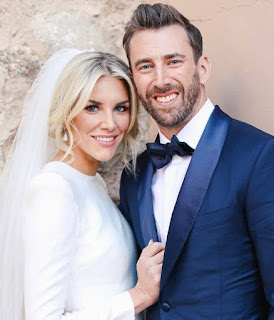 Sports agent, Kyle Thousand with his wife Charissa Thompson
