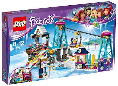 LEGO Friends - 41324  Estación de esquí : Telesilla | 2017 | Comprar CAJA JUGUETE