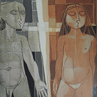 Gil Imaná pintura figurativa Bolivia