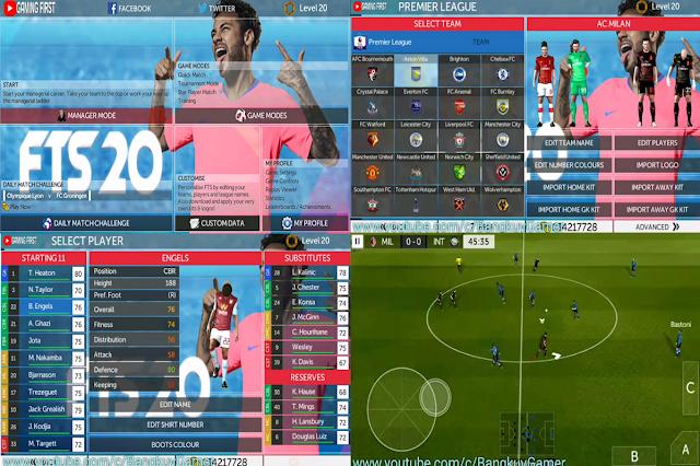 FTS 20 Neymar Update Transfer 2020 HD