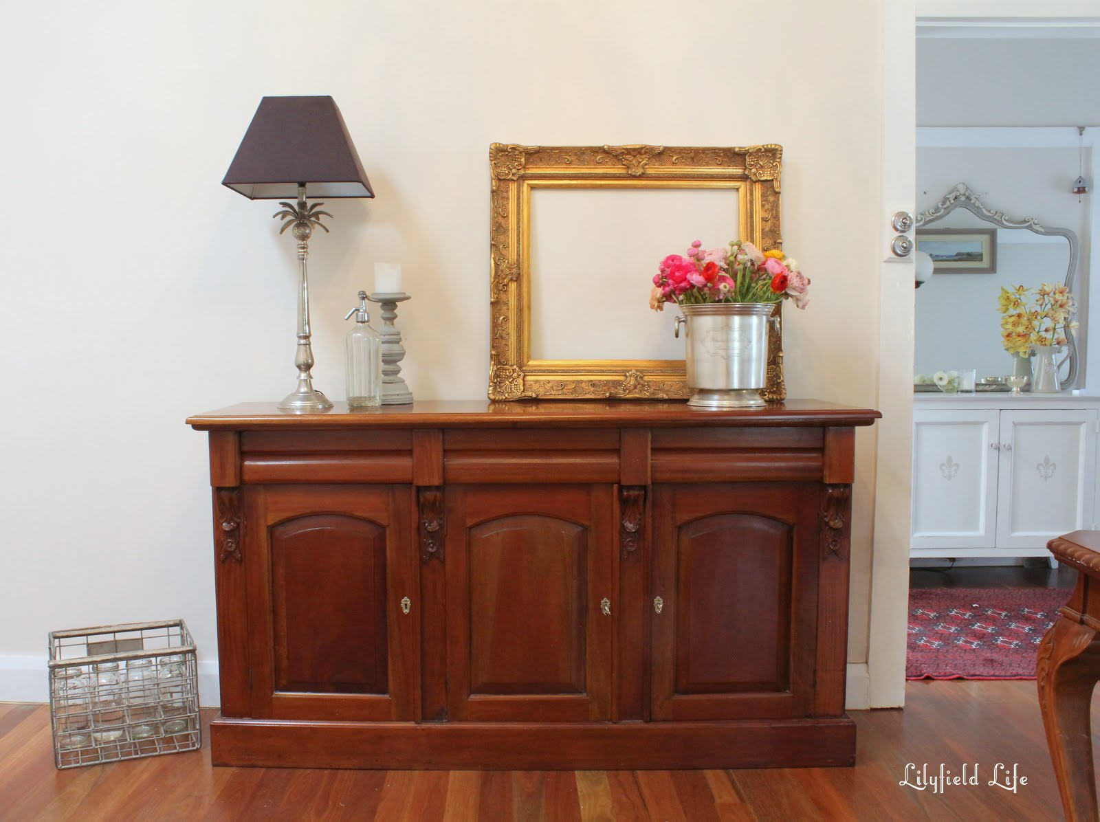 Furniture Leichhardt Lilyfield Life Carved Timber Sideboard