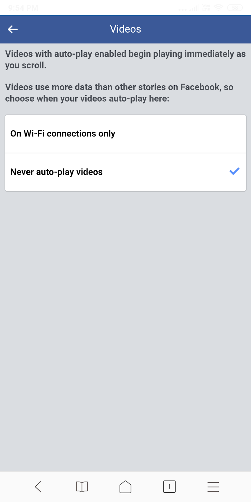 FB stop auto play videos4 - Homies Hacks