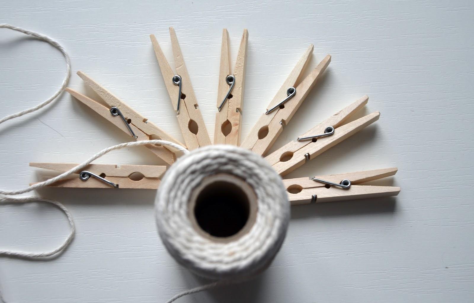 co zrobić z drewnianych klamerek ?