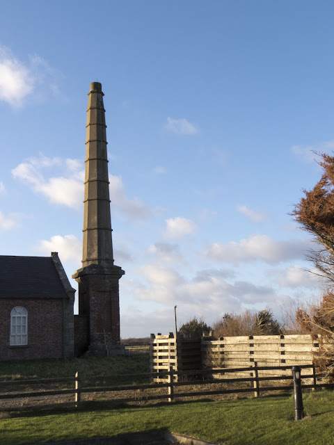 Historic chimney at the Wexford Wildfowl Reserve