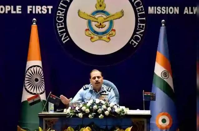 IAF chief RKS Bhadauriya