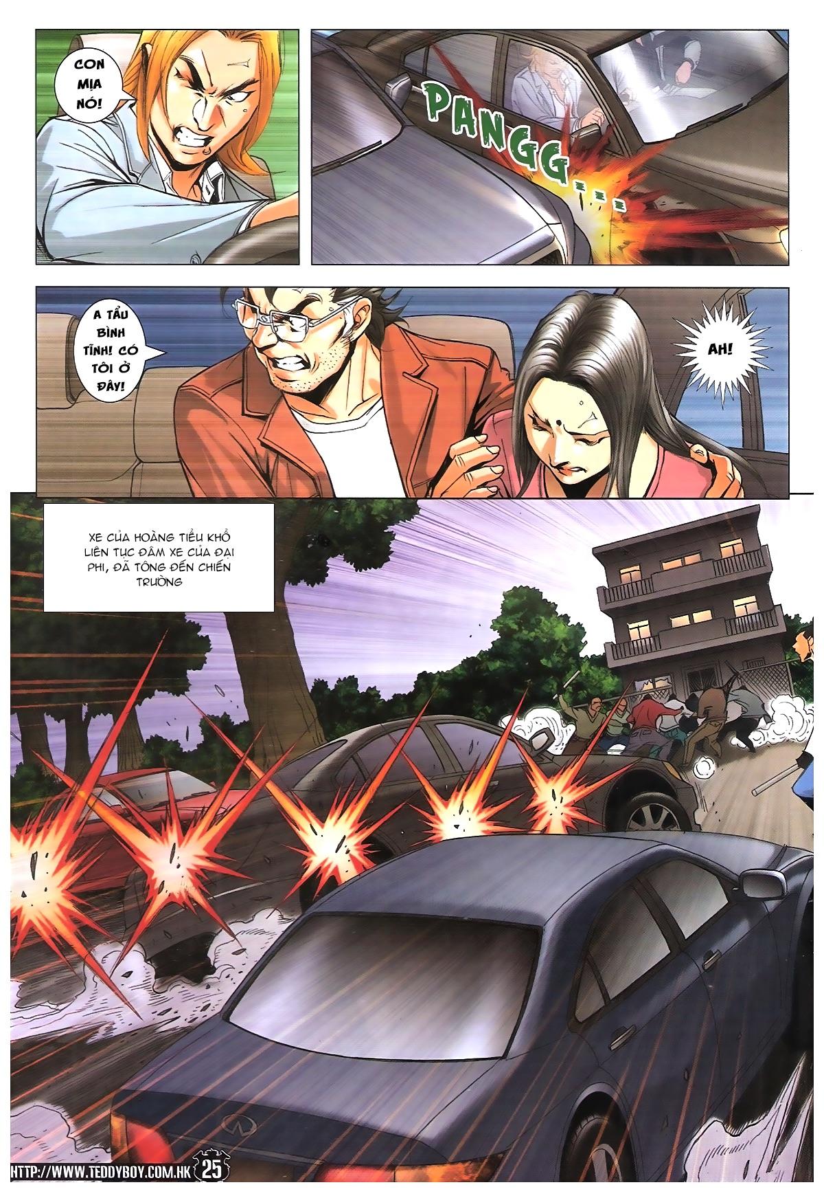 Người Trong Giang Hồ chapter 1787: hỏa thiêu trần hạo nam trang 23
