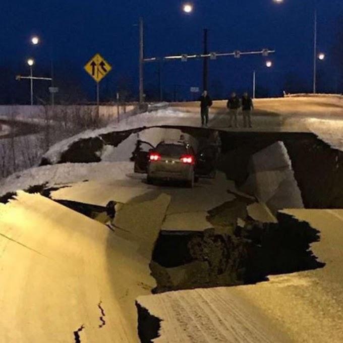 Σεισμός 8,2 Ρίχτερ στην Αλάσκα - Ειδοποίηση για τσουνάμι